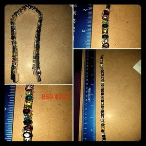 Jewelry - Multi color gem bracelet